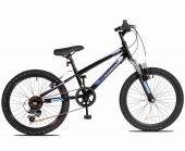 "24"" Thunderbolt FS Wheel Boys Bicycle 13"" frame Boys 18 speed mountain Bike for ages 7 to 11 years old"