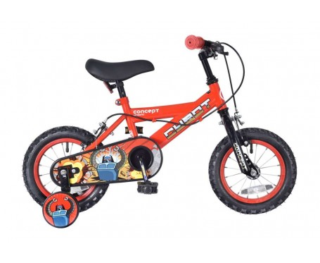 "12"" Cybot Boys Bike blue Suitable for 2 1/2 to 4 years old"