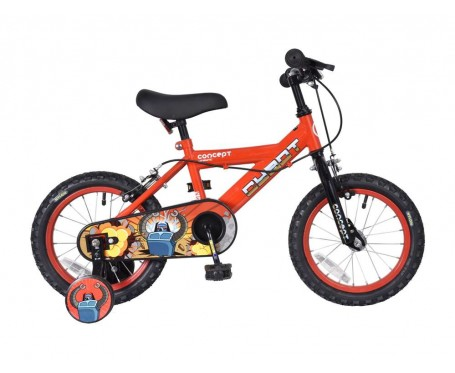 "14"" CYBOT BOYS BIKE SUITABLE FOR 2 1/2 TO 4 YEARS OLD"