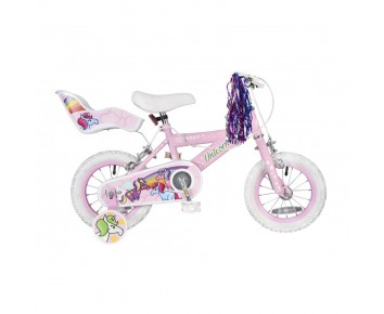 12 Unicorn girls Bike Suitable for 2 1/2 to 4 years old