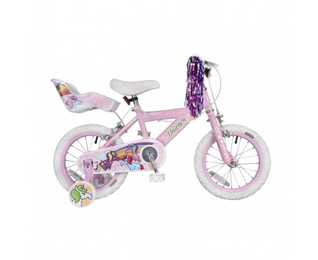 "14"" Unicorn girls Suitable for 3 to 4 1/2 years old"