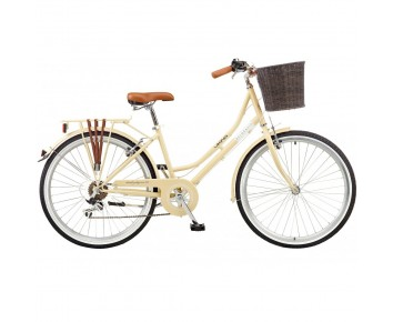 "Viking Belgravia Ladies Traditional Heritage 26"" Wheel 6 Speed Bike Latte or Blue"