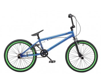 "ROOSTER CORE 9.75"" FRAME 20"" WHEEL BOYS BMX BIKE BLUE RS164"