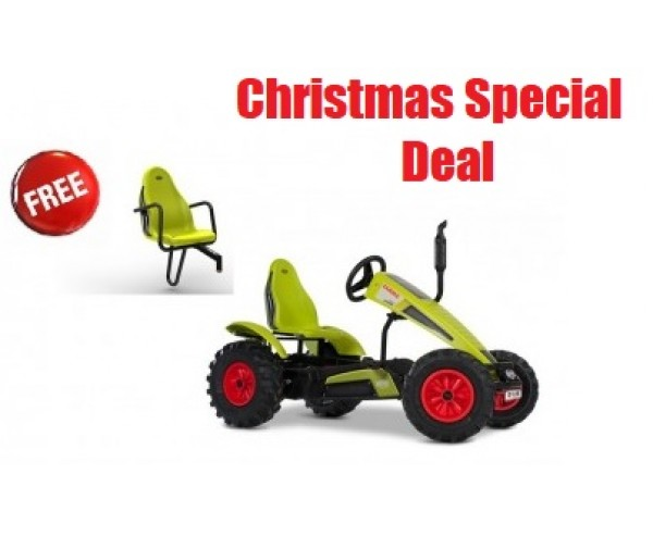 BERG Traxx Claas BFR for ages 5+ go kart