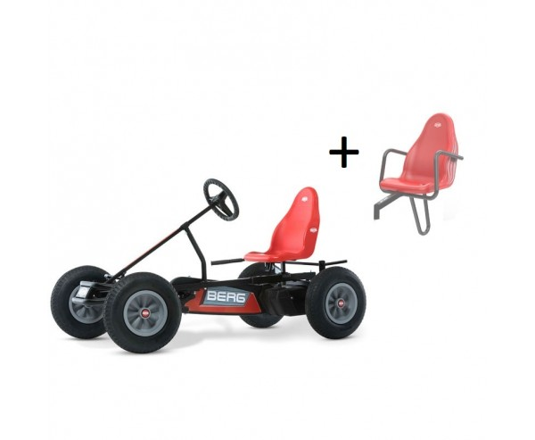 BERG Classic Basic Red BFR Pedal Go Kart for ages 5+