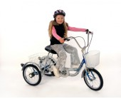 "Mission Trilogy trike 16"" Special needs trike"