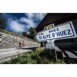 Gavin Alpe d'Huez training on Zwift & In the real world (Part 1)
