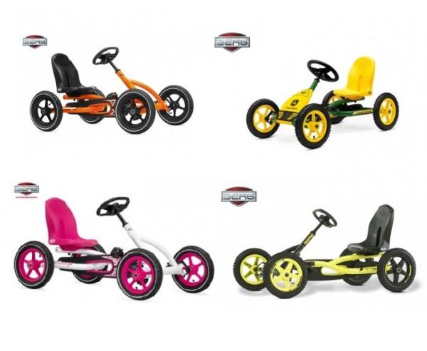 Pedal Go kart range explained BERG & Grant two seater go karts