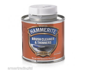 Hammerite 250ml Brush Cleaner and Thinners