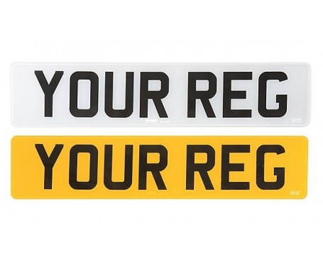 Number plate maker - Number plate supplier - While you wait