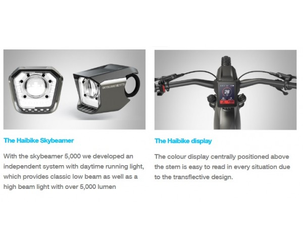 Haibike XDURO NDURO E-mountain bike 2019 FLYON ePERFORMANCE SYSTEM