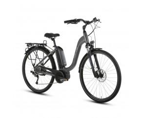 Forme Morley 1 ELS E-Bike Grey/Black 700c Low Step Frame Bosch Electric Bike derailleur gears and disc brakes