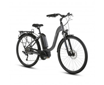 Forme Morley 1 ELS E-Bike Grey/Black 700c Low Step Frame Bosch Electric Bike derailleur gears and disc brakes