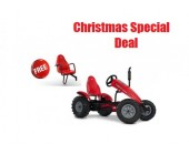 BERG Traxx Case-IH BFR for ages 5+ go kart