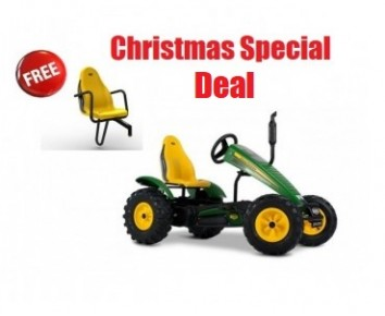 BERG Traxx John Deere BFR for ages 5+ go kart