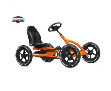 Berg Buddy Orange Go Kart for 3-8 years old