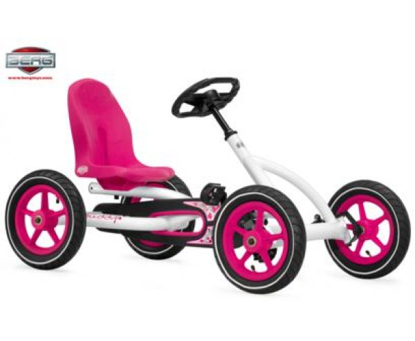 Berg Buddy Go Girls Pink white for 3-8 years old