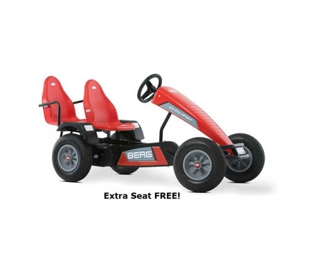 BERG Classic Extra Sport BFR RED Pedal Go Kart for ages 5+ Limited Edition