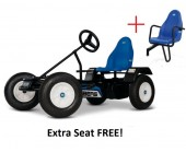 BERG Classic Extra Blue BFR Pedal Go Kart for ages 5+