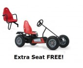 BERG Classic Extra BFR RED Pedal Go Kart for ages 5+