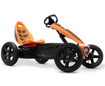 Berg BERG RALLY ORANGE pedal go-kart go kart for ages 4-12
