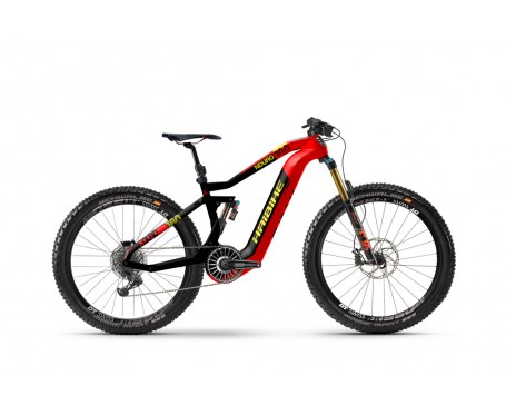 Haibike XDURO NDURO E-mountain bike 2019 FLYON ePERFORMANCE SYSTEM