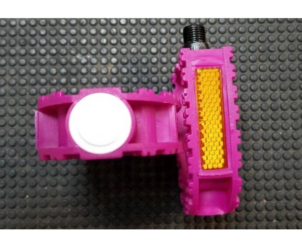 1/2 inch Pink Kids cycle bike Pedals