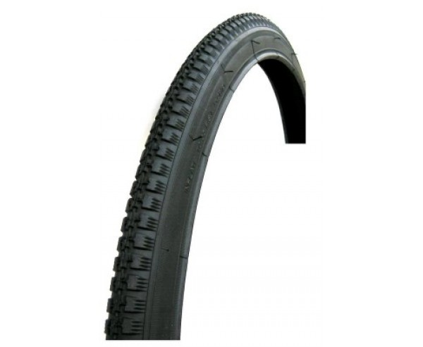28 x 1 1/2 40-635 Black Roadster Tyre Vintage Raleigh BSA Humber Philips + FREE TUBE Woods valve
