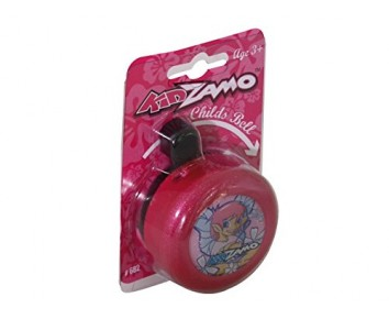 Kidzamo Pink girls bike bell