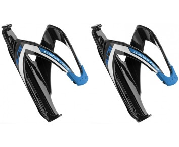 Elite Custom Race Bottle Cage Black/Blue