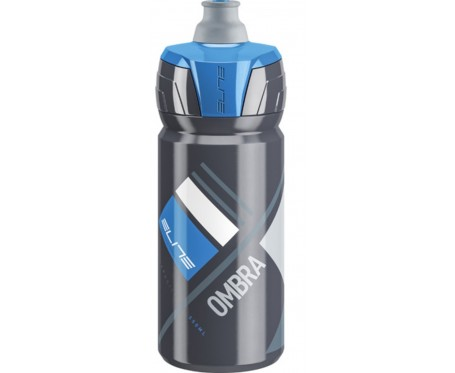 Elite Ombra membrane grey blue cycling bottle 550 ml