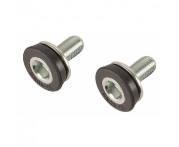 Bottom Bracket M8 Capless Steel Crank Bolts Pair