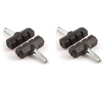 Cantilever brake blocks 2 x pair