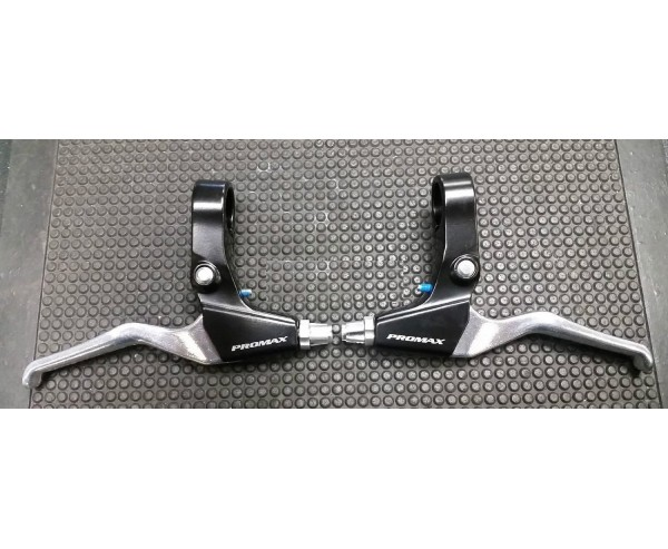 Alloy V Brake levers for Mountain Hybrid or Kids BMX bike PAIR Promax