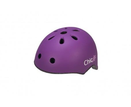 Raleigh Chic Purple Childrens Cycle helmet 50-54cm