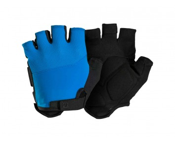 Bontrager Cycle Mitts Foam Fingerless Solstice Glove padded Blue