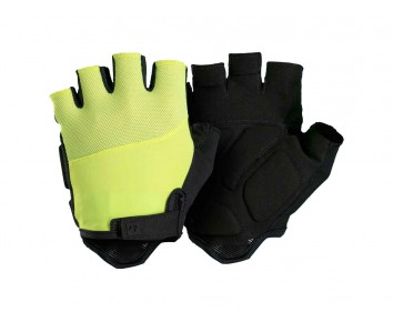 Bontrager Cycle Mitts Foam Fingerless Solstice Glove padded Yellow