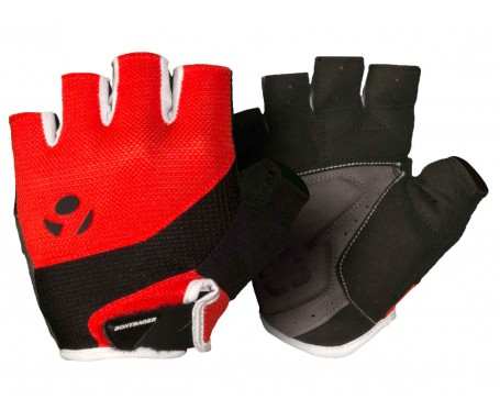Bontrager Cycle Mitts Gel Fingerless Solstice Glove padded Red