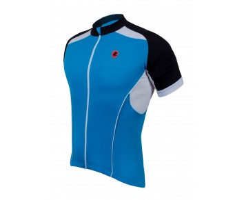 Lusso Linea Short Sleeved Jersey – Blue Medium