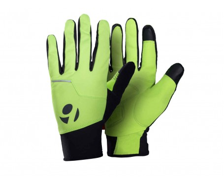 Bontrager Circuit Windshell Gloves Hi Viz