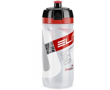 Elite Corsa 550ml Bottle Clear/Red