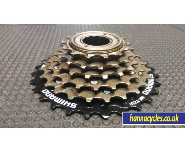 Shimano 6 speed 14-28T Freewheel and Chain