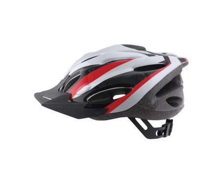 Helmet Zephyr Red Silver Large 58-62cm