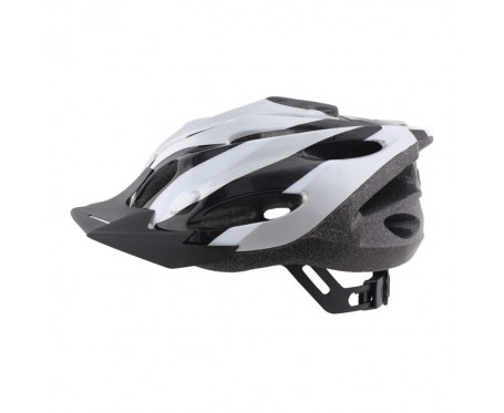 Helmet Zephyr Silver Black Medium 54-58cm