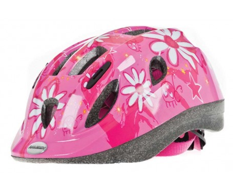 Raleigh Mystery Pink Flowers Helmet Medium 52-56 cm