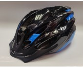 Helmet Mission Evo Black/Blue Medium 54-58cm
