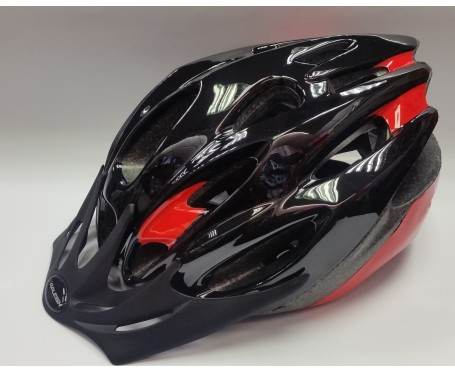 Helmet Mission Evo Black/Red Large 58-62cm