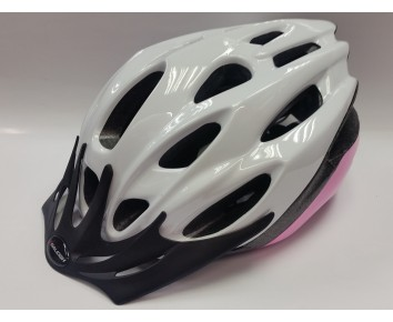 Helmet Mission Evo White/Pink Large 58-62cm