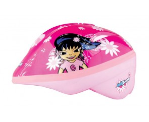 Serena Pink Girls Helmet Medium 52-56