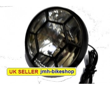Dynamo Headlamp 6 volt Front Light with Grill Bicycle Mountain Bike Cycle